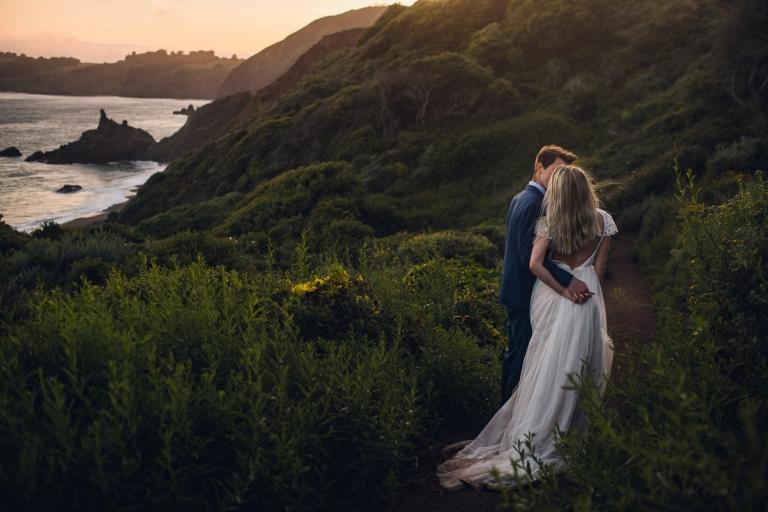 big sur california elopement wedding