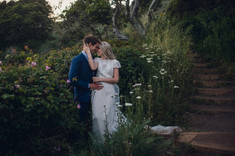 big sur california elopement wedding