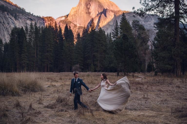 spring elopement, yosemite national park, adventure photographer, adventure photography, elopements, elopement photography, elopement photographer
