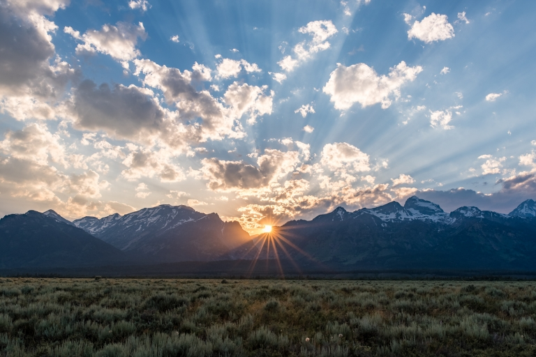 adventure photography and elopements, wyoming, eloping in grand teton national park, sunset